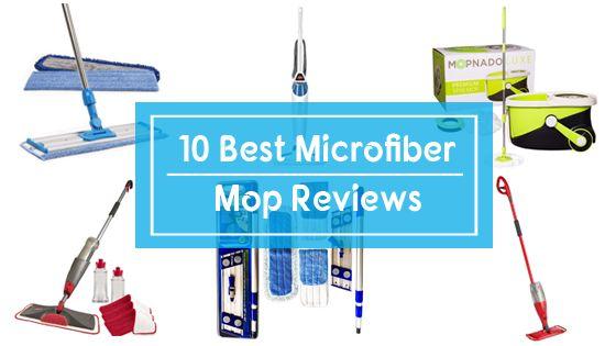best microfiber mop reviews