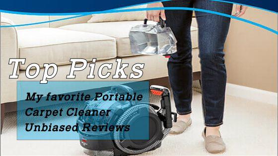 Best portable carpet cleaner reviews