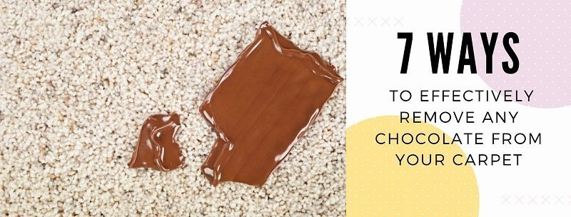 How to Remove Chocolate any From Your Carpet