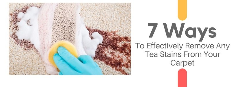 how to remove tea stains from carpet